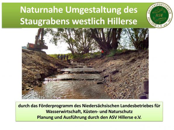 Titelseite Staugrabenprojekt 2016