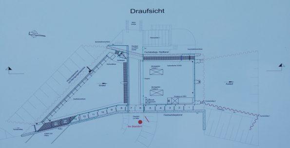 Die Draufsicht zu der im Foto Oben abgebildeten Anlage in Halle/Planena an der Saale